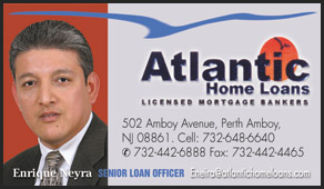 Atlantic Home Loans business cards