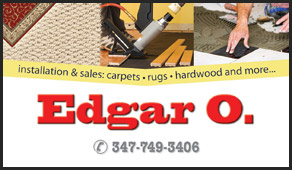 Edgar O, NYC, business cards