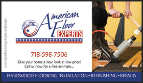 American Floor Experts business cards