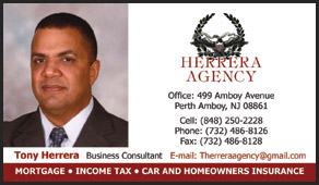 Herrera Agency, Perth Amboy, business cards
