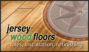 jersey wood floors business cards - Flooring Business Cards