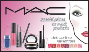 mac products business cards