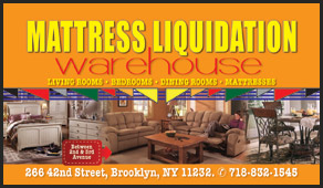 Mattress Liquidation Warehouse business cards