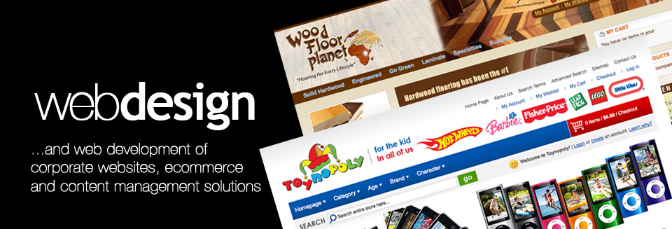 Web design and development, NJ