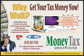 MoneyTax postcards